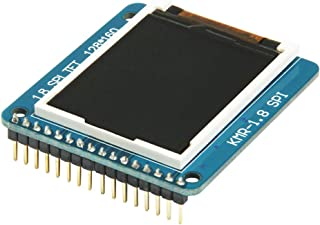 "HiLetgo 1.8"" TFT Color LCD Display Module SPI 128X160 Display with SD Socket"