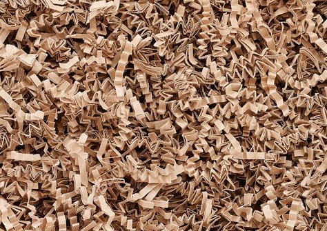 Papier-Füllmaterial für Geschenke oder Deko natur - 900 gr