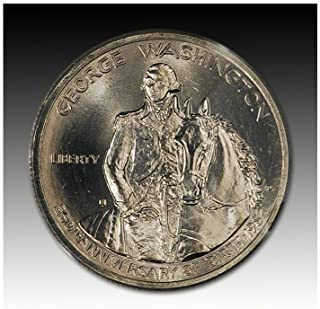 1982 D US Commemorative George Washington Silver Half Dollar (1/2) Brilliant Uncirculated US Mint
