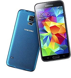Samsung Galaxy S5 5.1in G900V 16GB Verizon Cell Phone Android (Renewed) (Blue)