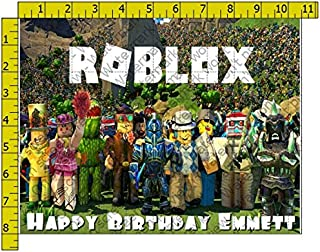 Roblox Frosting Image 1/4 sheet Cake Topper