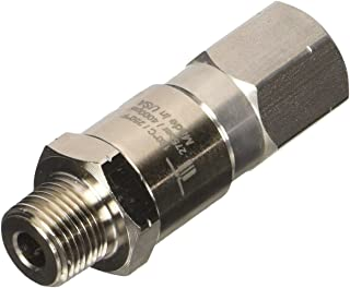 Mosmatic Live Pressure Washer Swivel - 4000 PSI, 3/8in. NPT-M, Stainless Steel, Model# DGV