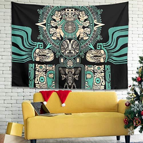 OwlOwlfan Jaguar Warrior Tapiz de pared suave para decoración del hogar, manta de pared de tela decorativa para decoración del hogar, color blanco 40 x 59 pulgadas