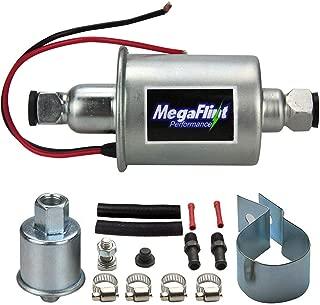 Universal Electric Fuel Pump 12V Low Pressure Inline Fuel Pump E8012S 5-9 PSI For Gas Diesel HEP-02A