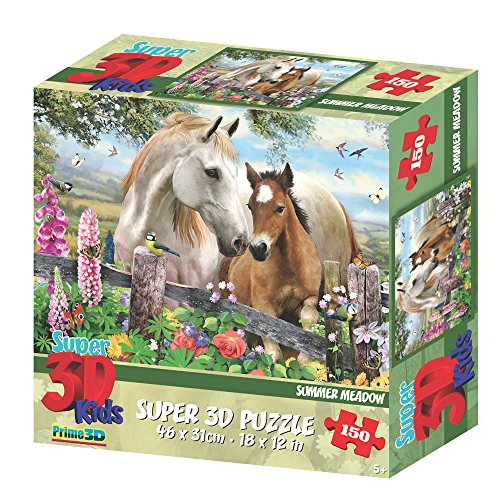 Howard Robinson hr10827 Super 3D Summer Meadow Puzzle (150-tlg.)