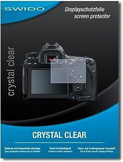 Newmowa Pellicola Protettiva per Canon 6D II 80D 1 Proteggi Schermo in Vetro Temperato Screen Protector AntiGraffio per Fotocamera Digitale DSLR