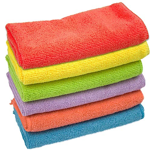 KMAKII Microfiber Cleaning Cloths