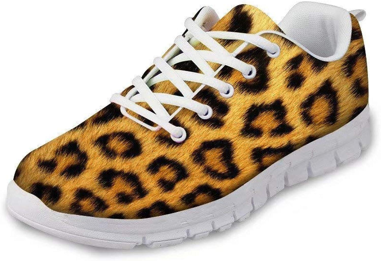 Fashion Women Sneakers Vivid Skin Pattern Design shoes Lightweight Outdoor Road Running Walking shoes