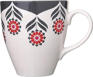 Rosa By Fathy Mahmoud Porcelain Mug, 1 Piece - Multi Color