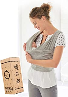 Fular elástico/Baby wrap (portabebés), rebozo para múltip