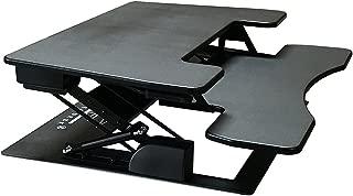 Fancierstudio Riser Desk Standing Desk Extra Wide 38