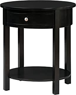 Convenience Concepts Classic Accents Cypress End Table, Black