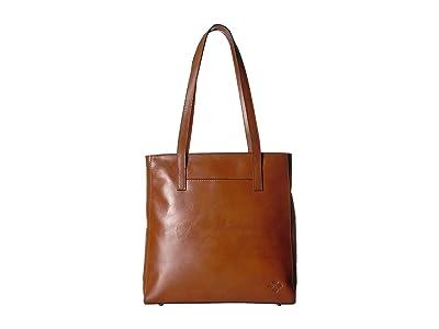 Patricia Nash Heritage Viana North/South Tote (Tan) Tote Handbags