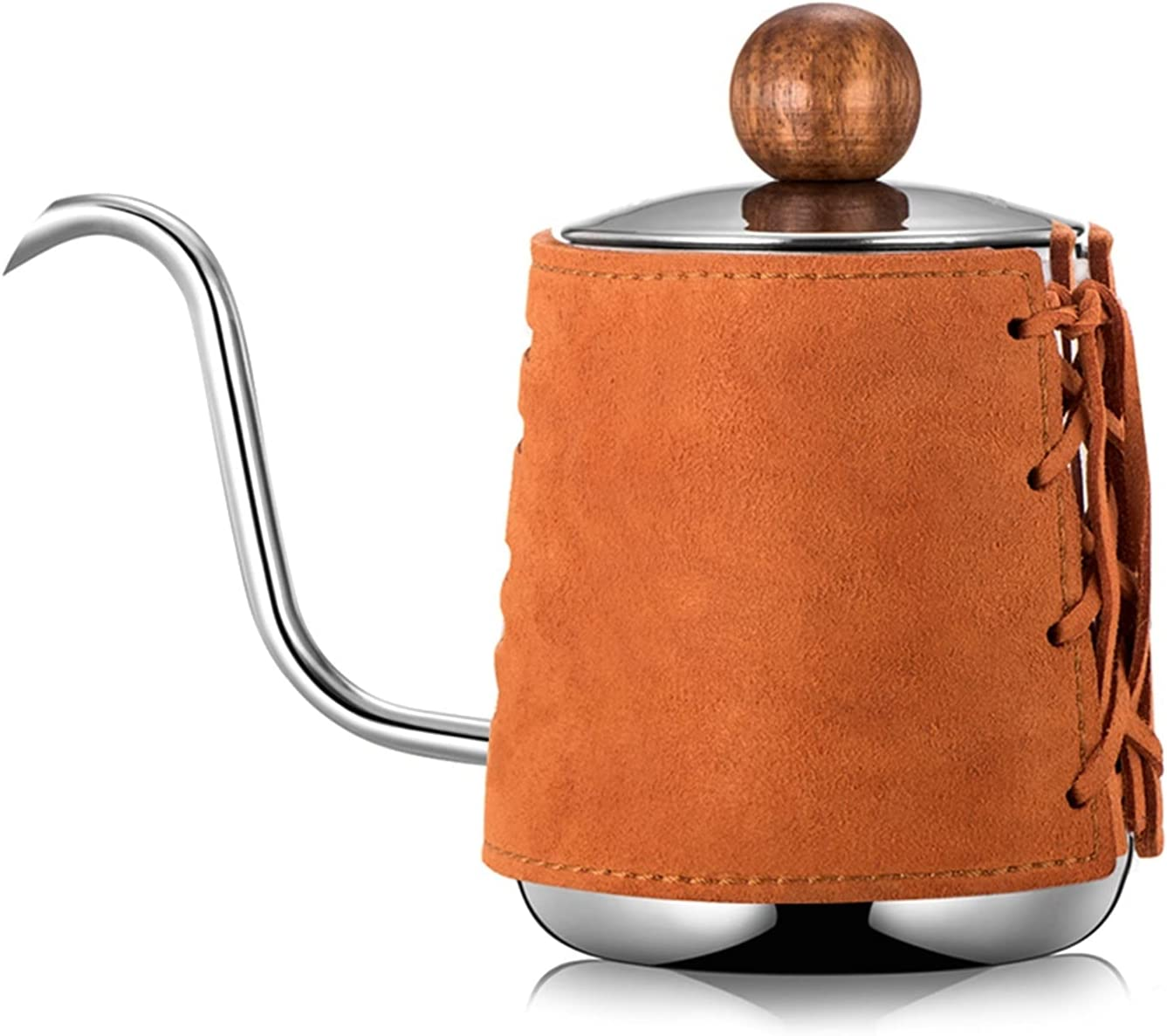 Pour over Coffee Kettle Drip El Paso Mall Leat Handleless Anti- SEAL limited product