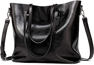 Chibi-store Women Leather Handbags Lady Large Tote Bag Female Pu Shoulder Bags Bolsas