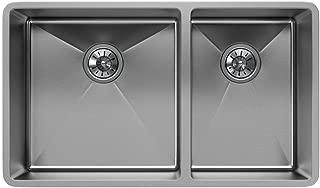 Elkay ECTRU32179RT Crosstown 60/40 Double Bowl Undermount Stainless Steel Sink