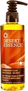 Desert Essence Thoroughly Clean Face Wash - Sea Kelp - 8.5 Fl Oz - Nourishes Skin For Healthy Radiant Glow - Antioxidant Protection - Tea Tree Oil - 100% Natural Ingredients - Natural