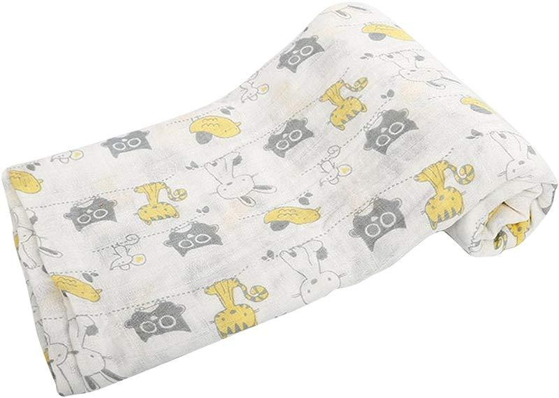 Comfydot Baby Muslin Swaddle Newborn Receiving Blanket 100 Organic Cotton Large 47x 47inch