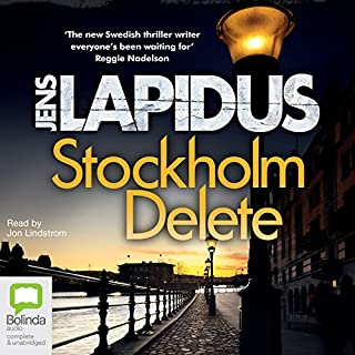 Stockholm Delete     Dark Stockholm, Book 1              By:                                                                                                                                 Jens Lapidus                               Narrated by:                                                                                                                                 Jon Lindstrom                      Length: 16 hrs and 54 mins     1 rating     Overall 4.0