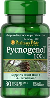 Puritans Pride Pycnogenol 100 Mg, 30 Count