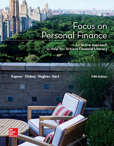 Loose Leaf Focus on Personal Finance with Connect Access Card (Mcgraw-hill/Irwin Series in Finance, Insurance, and Real
