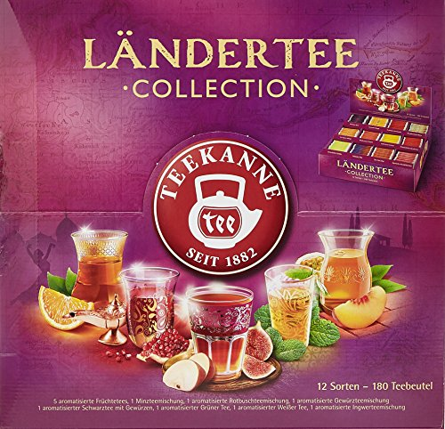 Teekanne Ländertee Collection Box Bild