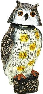 comprar comparacion PrimeMatik - Ahuyentador de Aves Tipo Estatua búho con Ojos Reflectantes 40cm Macho