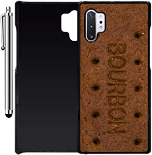 Custom Case Compatible with Galaxy Note 10 Plus (Bourbon Biscuit Bar) Plastic Black Cover Ultra Slim | Lightweight | Includes Stylus Pen by Innosub