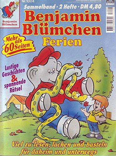 Benjamin Blümchen Nr. 1004 Sammelband 2 Hefte Ferien