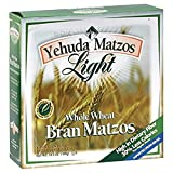 Yehuda Matzos - Light Whole Wheat Bran, Kosher for Passover, 10.5 Once (Pack of 6)