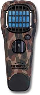 Thermacell MR150 Portable Mosquito Repeller, DEET-Free, Scent-Free, Mess-Free Mosquito Repellent; 15 Foot Protection Zone with Fuel Cartridge and 3 Repellent Mats Provides 12 Hours of Relief