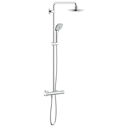 GROHE 27296001   Euphoria 180   Thermostat Shower System