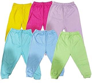 Set of 6 units Baby Pants Multicolour