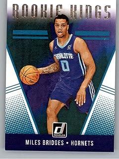 a22526562f2a 2018-19 Donruss Rookie Kings Basketball Insert  8 Miles Bridges Charlotte  Hornets Official NBA