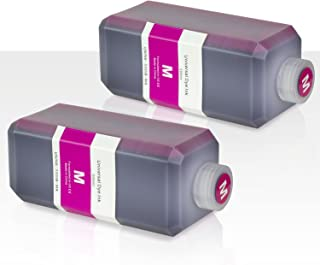 OfficeSmartInk Refill Ink with Refill Kit Compatible with Most Inkjet Printers (Magenta 500 ml Bottle 16.9 oz, 2-Pack)