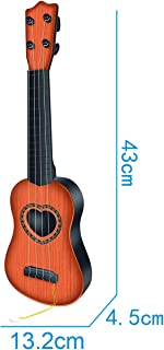 Huang Cheng Toys Kid's Musical Instrument Mini Guitar 6 StringsToy Guitar for Kids Plastic Musical Toy