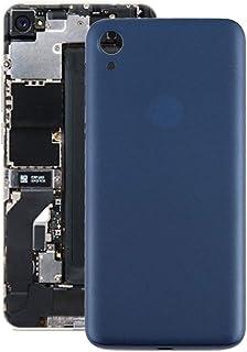 Mobile Phones Communication Accessories Battery Back Cover for Motorola Moto E6 (Color : Blue)