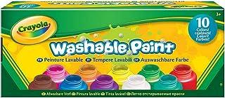 Crayola Washable Kids' Paint, Assorted Colors 10 ea