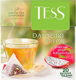 Tess Té Verde, Sabor Pitahaya y Jengibre, 20 sobres