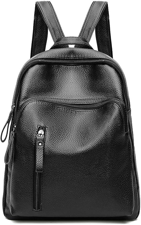 Damen Rucksack Daypack Schultertasche Reiserucksack Tasche Vintage Leder Backpacks Für Outdoor Sports Campus Schule ReiseUmhängetasche Persönlichkeit Mode Reisetasche Handtasche, schwarz B07PR6KDXC  Bestellungen sind willkommen