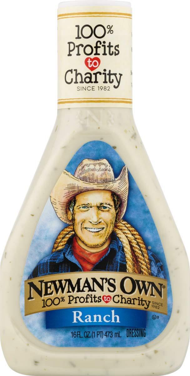Newman's 1 year warranty Own Ranch 16-oz. Genuine Free Shipping Dressing Salad