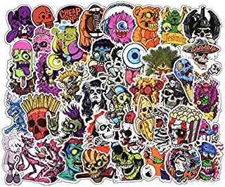 EKIND Not Repeat Graffiti Stickers for Tablet Skateboard Car Decals Bicycle (50Pcs, Terror A)