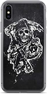 iPhone XR Case Anti-Scratch Television Show Transparent Cases Cover Sons of Anarchy Tv Shows Series Crystal Clear