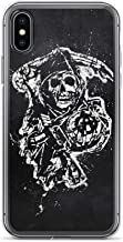 iPhone 7 Plus/8 Plus Case Anti-Scratch Television Show Transparent Cases Cover Sons of Anarchy Tv Shows Series Crystal Clear