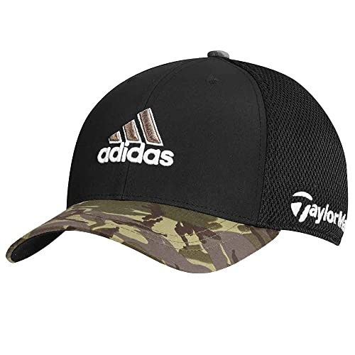 04f5e3a74688a0 adidas Tour Mesh Camouflage Fitted Golf Hat