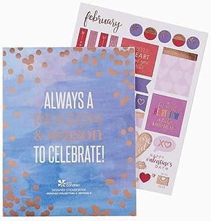 Erin Condren Designer Sticker Book - Monthly Sticker Book Edition 3