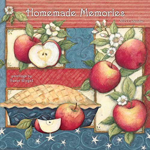 Avalanche January to December, 12 x 24 Inches, Perfect Timing Homemade Memories 2015 Wall Calendar by Susan Winget (7001617)