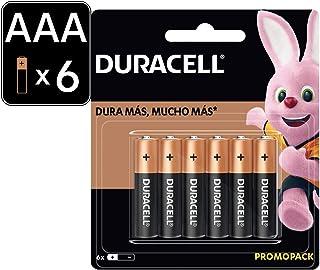 Duracell Copper & Black Pila Alcalina AAA con 4 Piezas + 2 pilas gratis