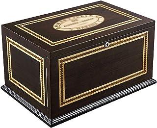 Rökutrustning/Cigarrtillbehör och Humidor Humidors 120 Cigarrer Kylare Cirklåda med tre nivåer Tall Cigar Box Fuktgivande ...