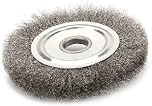 4 Inch Stainless Steel Wire Crimped Wheel Brush with 5/8